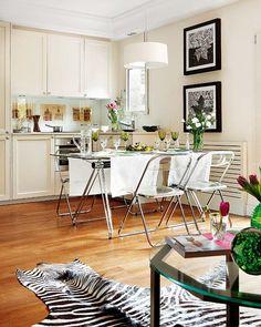 Moderne mix og chick i stilig hjem
