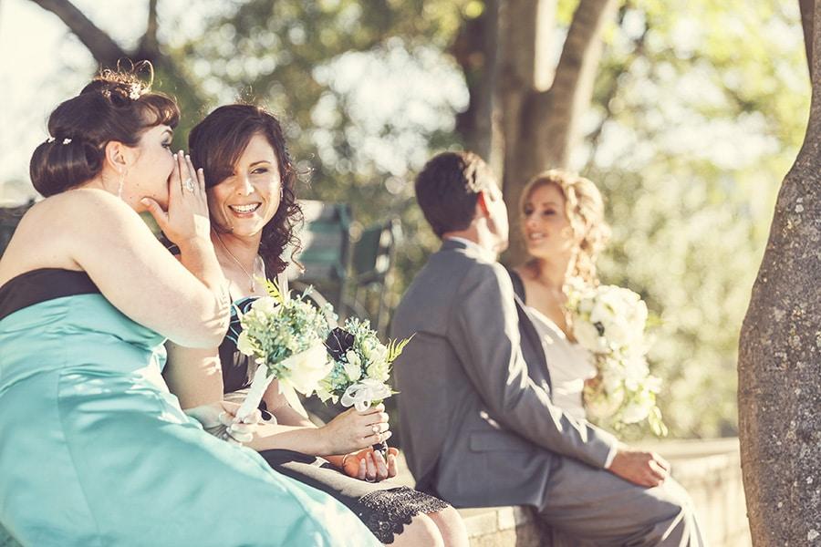 Bryllupsbilde med Nathan og Nicole tatt i Johannesburg. Fotograf på jobb i Sør-Afrika.