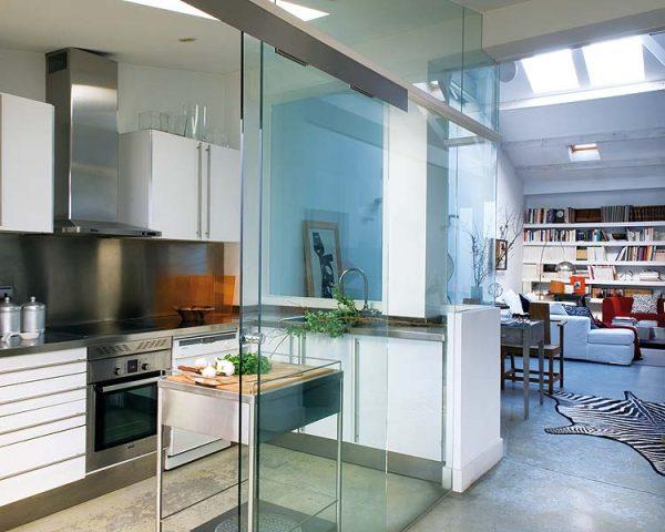 Moderne interiør med sebra