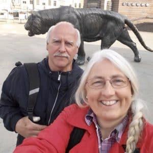 Sebraskinn.no salgsteam - Svein og Anette