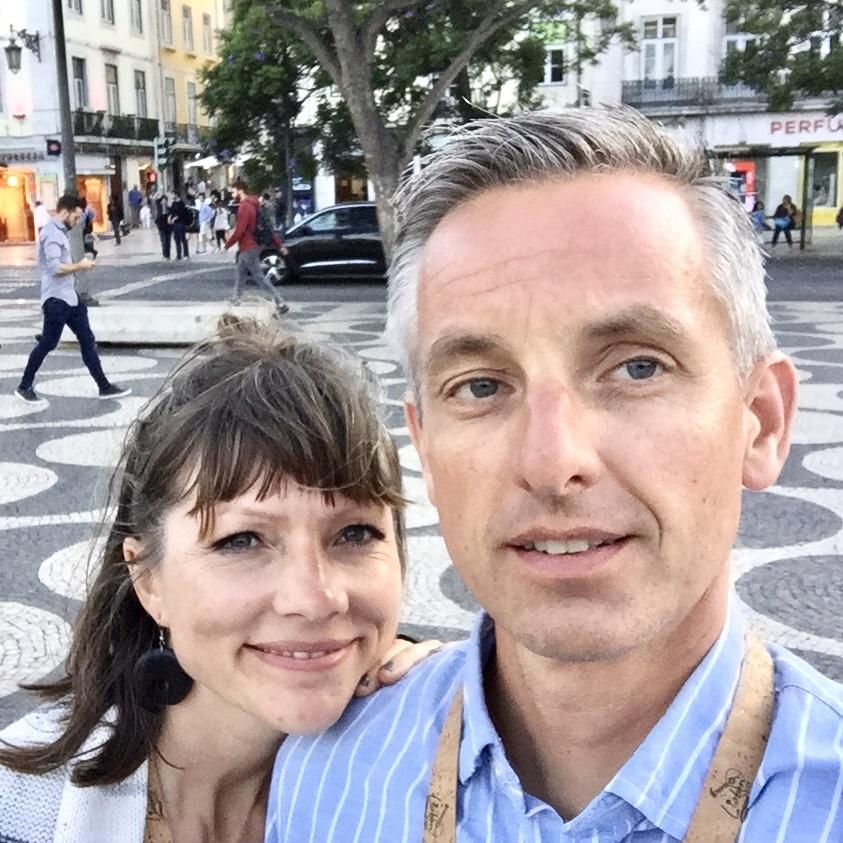 Sebraskinn.no eiere - Lars Erik og Elin Hauklien